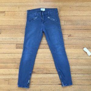Current Elliot Low-Rise Indigo Jeans